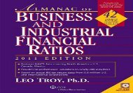 [+]The best book of the month Almanac of Business and Industrial Financial Ratios [With CDROM] (Almanac of Business   Industrial Financial Ratios (W/CD)) [PDF]