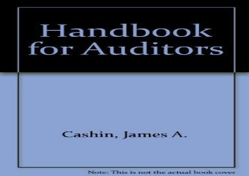 [+]The best book of the month Handbook for Auditors  [READ]