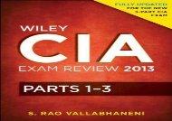 [+][PDF] TOP TREND Wiley CIA Exam Review: v. 1-3 (Wiley CIA Exam Review Series) [PDF]