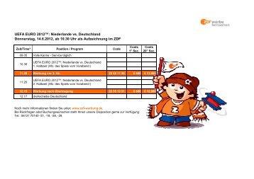 120611_NED vs GER_Afz - ZDF Werbefernsehen