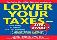 [+][PDF] TOP TREND Lower Your Taxes: Big Time!  [DOWNLOAD]
