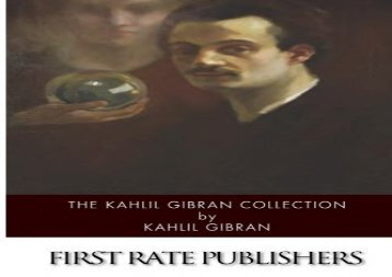 [+][PDF] TOP TREND The Kahlil Gibran Collection  [DOWNLOAD]