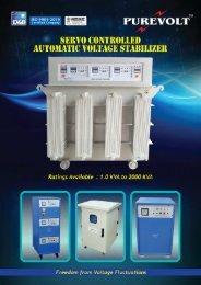 Servo Stabilizer New Catalog
