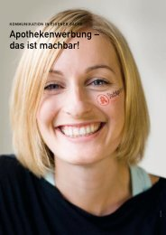 apothekenwerbung – das ist machbar! - Springer GuP