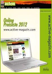 Online Preisliste 2012 - DoldeMedien Verlag GmbH