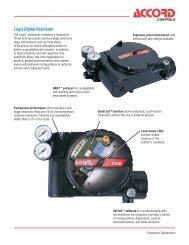 Logix Digital Positioner - Flowserve Corporation