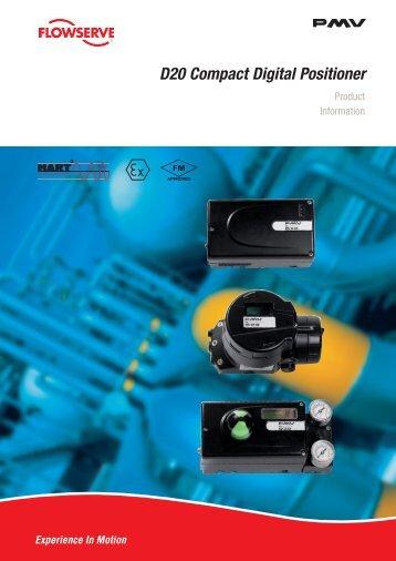 D20 Compact Digital Positioner - PMV Positioners