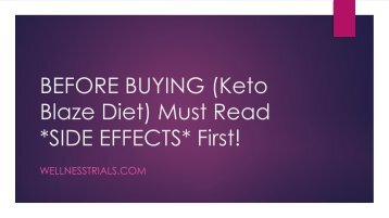 Keto Blaze Diet (2018) New Weight Loss Pill, Read Benefits, Cost ...