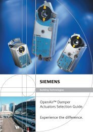 Building Technologies - Staefa Control System