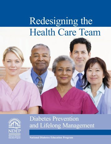 Redesigning the Health Care Team - National Diabetes Education ...