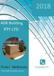 Turn Your Outdoor Space into Beautiful Patios - ADK Building