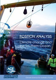 Position Analysis - Antarctic Climate and Ecosystems Cooperative ...