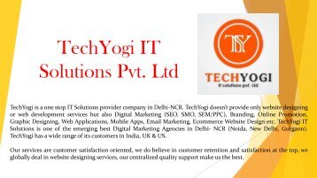 SMO Packages in Delhi @ 9315153141 Provided by TechYogi IT Solutions