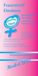 Veranstaltungen Herbst 2012 - Frauentreff Elmshorn
