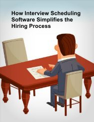 How Interview Scheduling Software Simplifies ... - Appointment-Plus