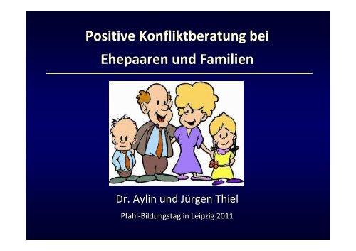 Positive Konfliktberatung bei Ehepaaren und Familien - Pfahl Leipzig