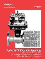 Series AF17 Electronic Positioner - Flowserve Corporation