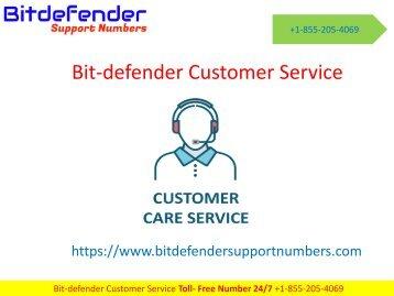 bitdefender customer service +1-855-205-4069