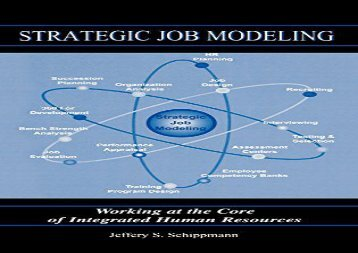 [+]The best book of the month Strategic Job Modeling: Working at the Core of Integrated Human Resources: Working at the Core of Integrated Human Resource Systems  [DOWNLOAD]