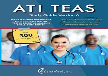 [+]The best book of the month ATI TEAS Study Guide Version 6: TEAS 6 Test Prep and Practice Test Questions for the Test of Essential Academic Skills, Sixth Edition  [DOWNLOAD]