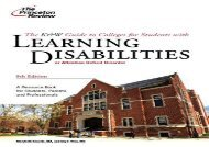 [+]The best book of the month The K w Guide to Colleges for Students with Learning Disabilities or Attention Deficit Hyperactivity Disorder (Princeton Review: K W Guide to College Programs   Services) [PDF]
