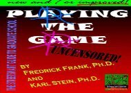 [+][PDF] TOP TREND Playing the Game: The Streetsmart Guide to Graduate School  [FULL]