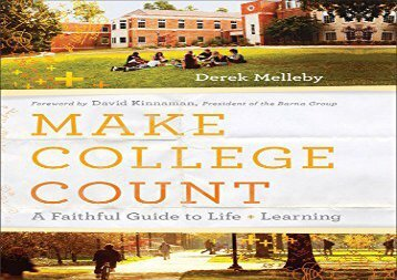 [+]The best book of the month Make College Count  [NEWS]
