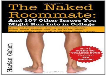 [+][PDF] TOP TREND The Naked Roommate: And 107 Other Issues You Might Run Into in College [PDF]