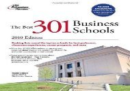 [+]The best book of the month The Best 301 Business Schools (Princeton Review: Best Business Schools)  [DOWNLOAD]