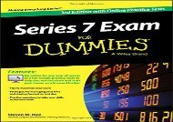 [+]The best book of the month Series 7 Exam for Dummies, 3rd Edition with Online Practice Tests  [NEWS]