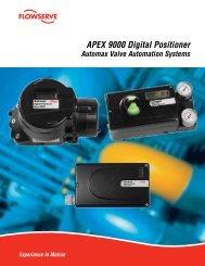 APEX 9000 Digital Positioner - Flowserve Corporation