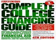 [+][PDF] TOP TREND Complete College Financing Guide (Barron s Complete College Financing Guide)  [DOWNLOAD]