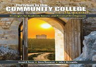 [+]The best book of the month Thriving in the Community College and Beyond: Strategies for Academic Success and Personal Development  [FULL]