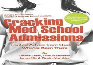 [+]The best book of the month Cracking Med School Admissions: Trusted Advice from Students Who ve Been There  [READ]