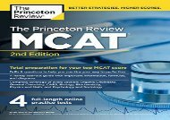 [+]The best book of the month Princeton Review MCAT (Graduate Test Prep)  [FULL]