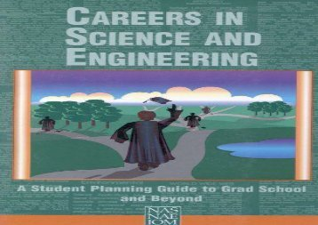 [+]The best book of the month Careers in Science and Engineering: A Student Planning Guide to Grad School and Beyond [PDF]