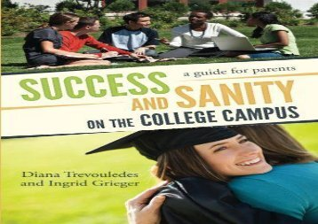 [+][PDF] TOP TREND Success and Sanity on the College Campus: A Guide for Parents [PDF]