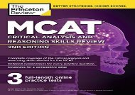 [+][PDF] TOP TREND MCAT Critical Analysis and Reasoning Skills Review, 2nd Edition (Graduate School Test Preparation)  [DOWNLOAD]