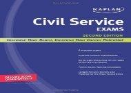[+][PDF] TOP TREND Kaplan Civil Service Exams  [NEWS]