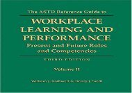 [+]The best book of the month ASTD Reference Guide to Workplace Learning and Performance  [READ]
