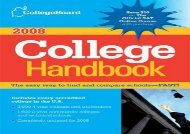 [+]The best book of the month The College Board College Handbook  [DOWNLOAD]