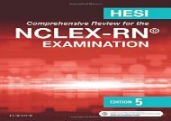 [+]The best book of the month HESI Comprehensive Review for the NCLEX-RN Examination, 5e  [DOWNLOAD]