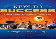 [+]The best book of the month Keys to Success: Building Analytical, Creative, and Practical Skills  [NEWS]