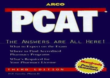 Pcat Book