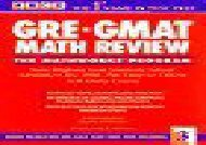 [+]The best book of the month Gre Gmat Math Review (Arco Academic Test Preparation)  [NEWS]