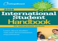 [+]The best book of the month The College Board International Student Handbook  [READ]