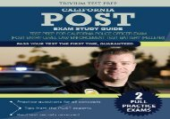 [+]The best book of the month California POST Exam Study Guide: Test Prep for California Police Officer Exam (Post Entry-Level Law Enforcement Test Battery (PELLETB))  [FULL]