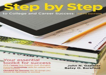 [+][PDF] TOP TREND Step by Step to College and Career Success  [DOWNLOAD]