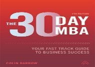 [+][PDF] TOP TREND The 30 Day MBA: Your Fast Track Guide to Business Success  [FULL]
