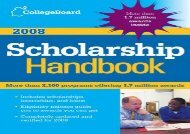 [+][PDF] TOP TREND The College Board Scholarship Handbook  [FULL]